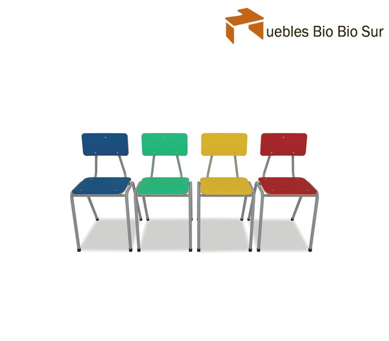 Parvulos muebles bio bio sur for Sillas para kinder