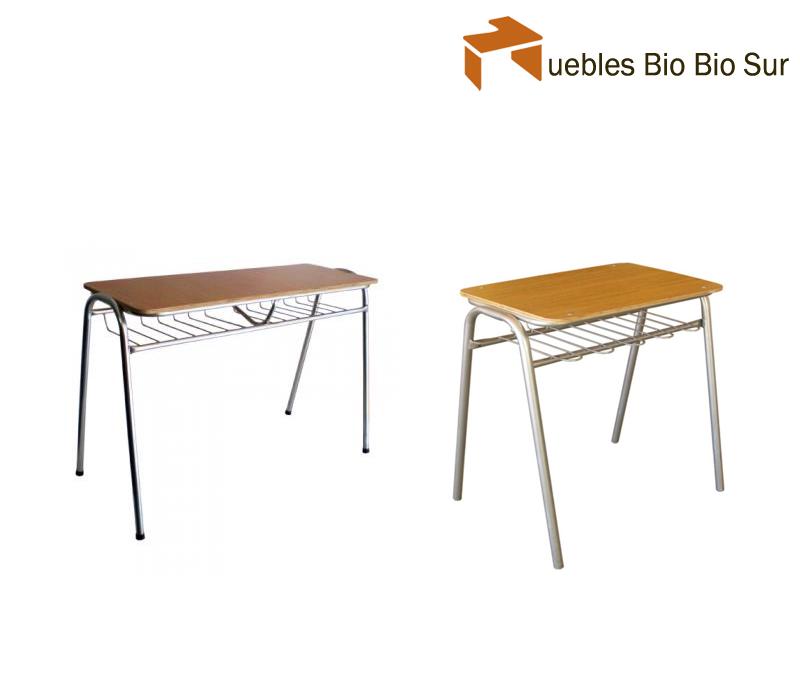 Mesas madera metal